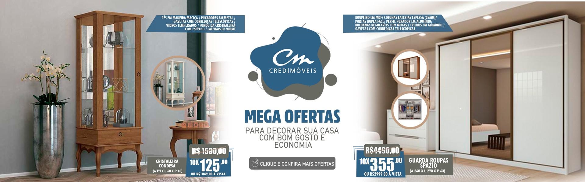 MEGA OFERTAS DA CREDIMÓVEIS