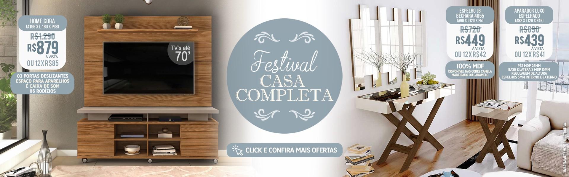 FESTIVAL CASA COMPLETA