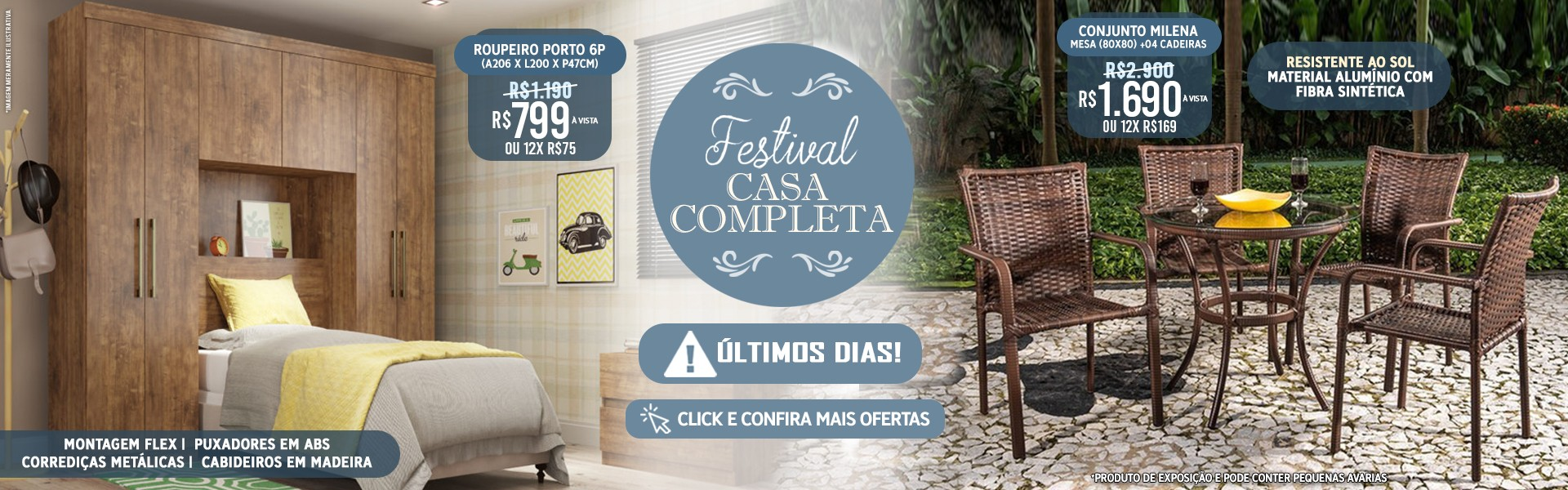FESTIVAL CASA COMPLETA MEGA