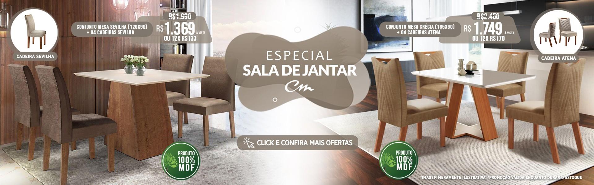 ESPECIAL SALA DE JANTAR