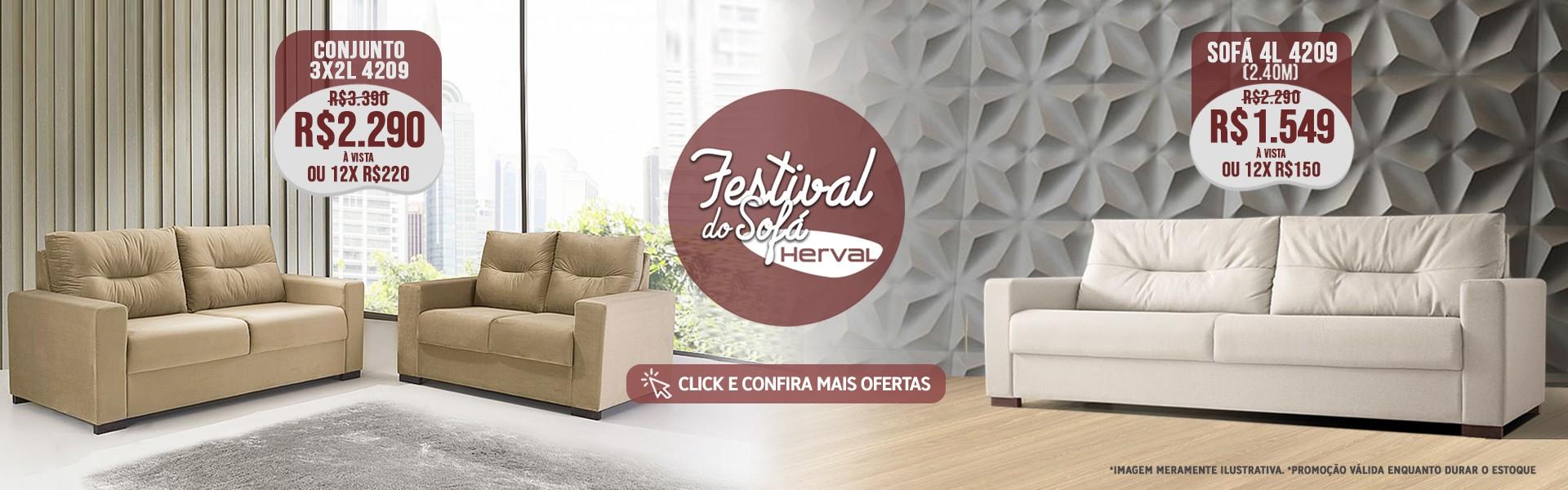 FESTIVAL DO SOFÁ HERVAL