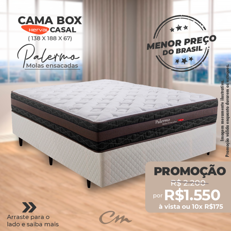 CAMA BOX PALERMO