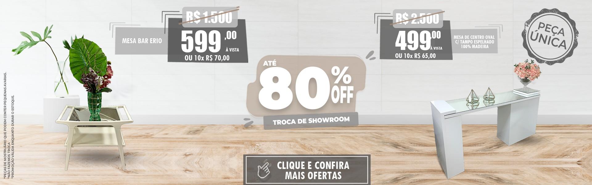 TEM MAIS OFERTAS COM 80%! Click & Confira